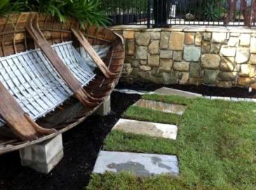 Boat Garden seat