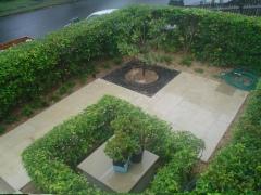 Pure sandstone garden Patio