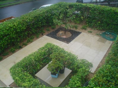 Pure sandstone garden Patio