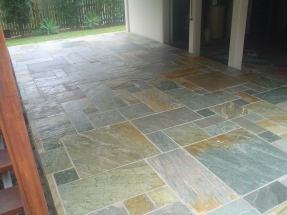 Siltstone patio
