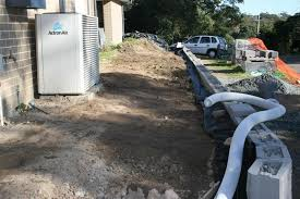 Reataing Wall Drainage