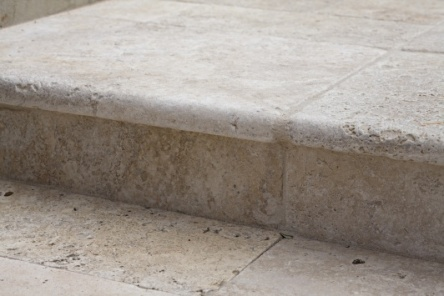 Travertine Bullnose Edge