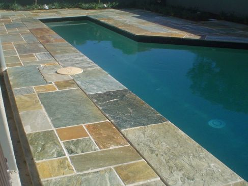 Silt Stone Coping and Surrounds