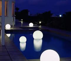 Garden light balls