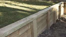 Sleeper Wall with Capping