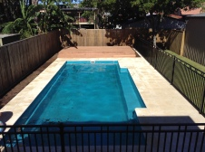 Fibre glass pool design and installations