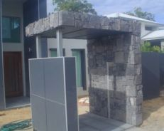 Bluestone arch