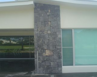 Bluestone feature strip