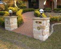 Sandstone Ballast pillars