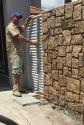 Setting of aluminium gate