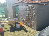 Construction of stone cladding