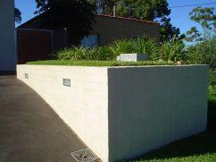 front brick retaining finished2