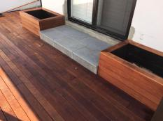 Granite patio