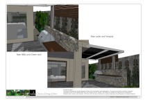 Additional Views 3 - Rear BBQ Vergola Green Wall