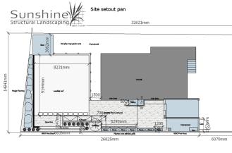 site setout plan