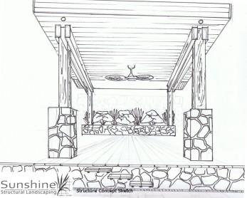 structure concept sketch