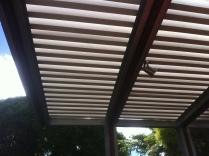 Aluminium batten roofing