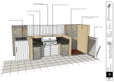 BBQ and Outdoor kitchen plans